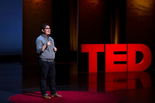 Miriam Zoila PŽrez at TEDWomen 2016 - It's About Time, October 26-28, 2016, Yerba Buena Centre for the Arts, San Francisco, California. Photo: Marla Aufmuth / TED
